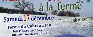 Marché de Noël à la ferme du Cabri au lait