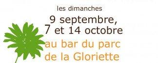ATABLE à la Gloriette Affiche sept 2012