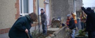 Premier JARDIN OUVERT dans le quartier Beaujardin à Tours