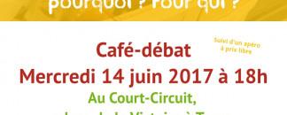 Café-débat au court-circuit « manger bio/local, pourquoi ? Pour qui ? »